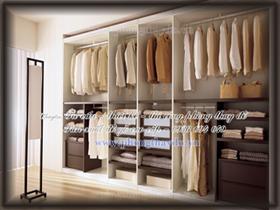 Tủ âm tường cho phòng thay đồ