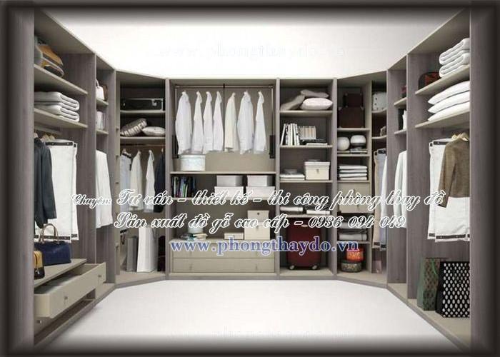 Phòng thay đồ mang phong cách hiện đại - Gia Trường An
