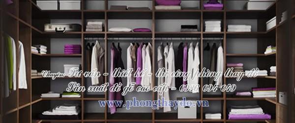 Mẫu tủ đa năng để áo quần cho phòng để đồ hình chữ U