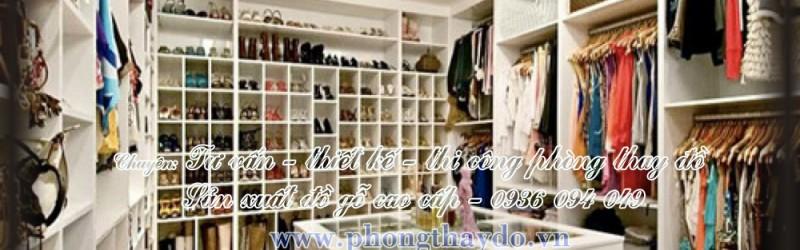 Mẫu tủ quần áo màu trắng cho phòng thay đồ