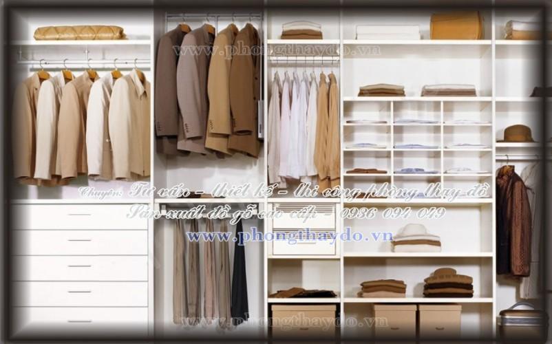 Mẫu tủ áo dành cho nam giới
