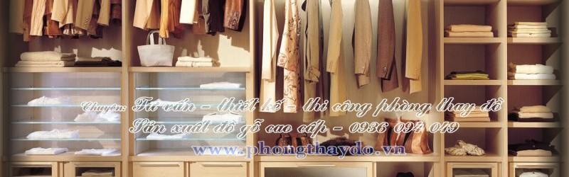 Tủ quần áo chia nhiều ngăn nhỏ để đồ