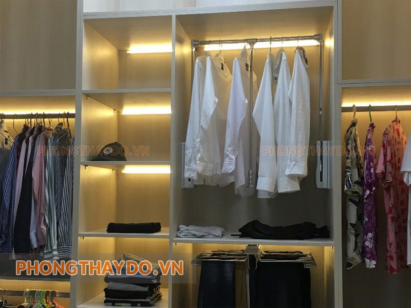 Phụ kiện treo quần áo sang trọng và hiện đại