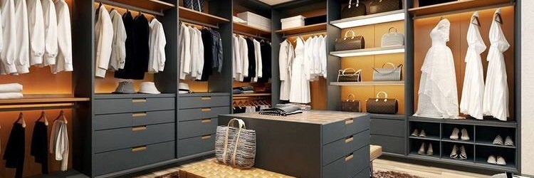 Phòng thay đồ sang trọng cho các cặp đôi