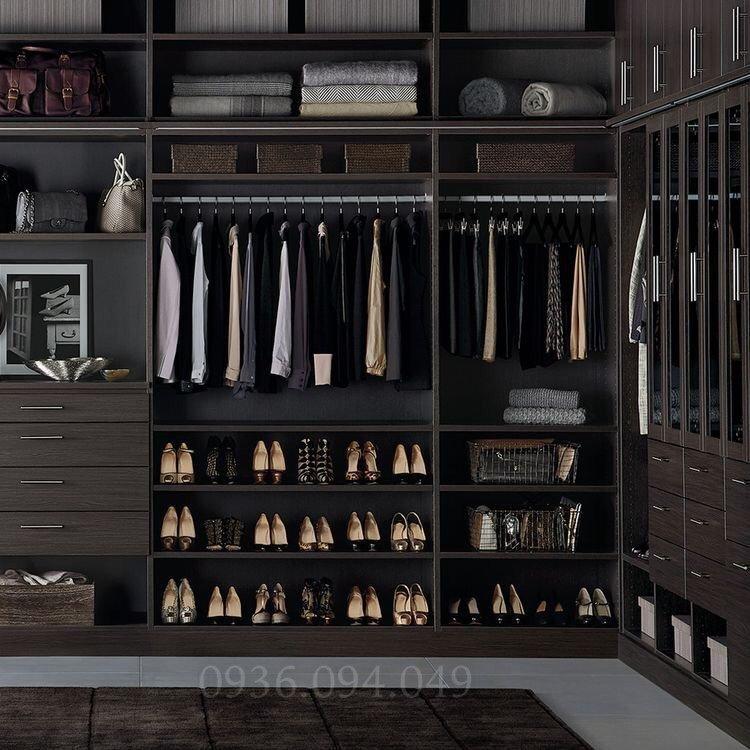Phòng thay đồ hiện đại