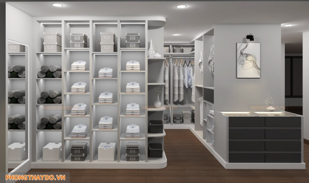 Lựa chọn phòng thay đồ theo nhu cầu sử dụng